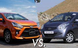 Toyota Wigo vs Hyundai Eon - War Of Cheap and Chipper Hatchbacks