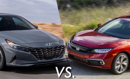 Hyundai Elantra vs Honda Civic: Compact sedan from Korea or Japan is better?