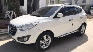 Selling White Hyundai Tucson 2011 in Baliuag