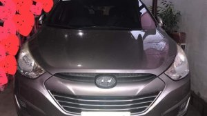 Grey Hyundai Tucson 2012 for sale in Cebu City
