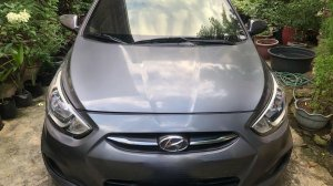 Selling Silver Hyundai Accent 2016 in Parañaque