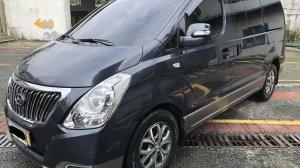 Grey Hyundai Grand Starex 2017 for sale in Quezon