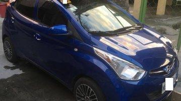 Selling Hyundai Eon 2017 at 11000 km in Imus