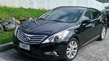 Black Hyundai Azera 2013 at 83000 km for sale