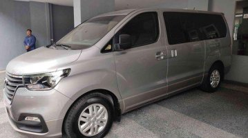 Silver Hyundai Grand starex 2019 Automatic Diesel for sale