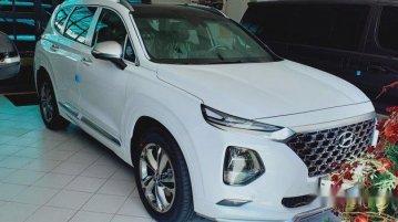 Sell White 2020 Hyundai Santa Fe in Quezon City