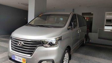 Sell Silver 2019 Hyundai Grand Starex Automatic Diesel