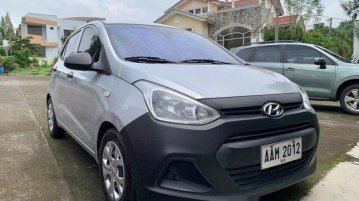 Sell Silver 2014 Hyundai Grand i10 Hatchback Manual