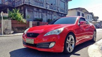 Selling Red Hyundai Genesis 2011 Coupe