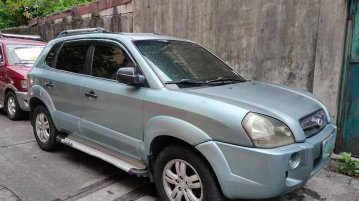 Selling Blue Hyundai Tucson 2008 in Manila