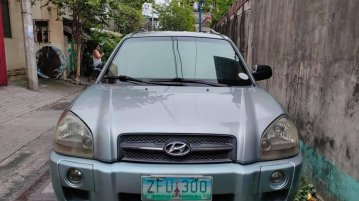 Bronze Hyundai Tucson 2008 for sale in Manila