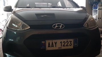 Selling Grey Hyundai Grand i10 in San Pedro