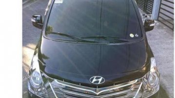 Black Hyundai Grand starex for sale in Davao