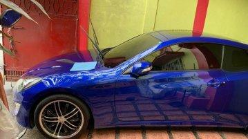 Blue Hyundai Genesis for sale in Manila