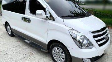 White Hyundai Starex 2018 for sale in Manila
