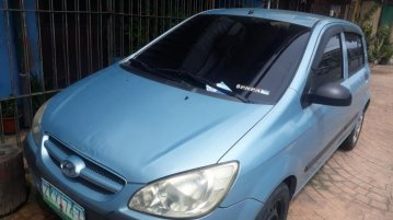Blue Hyundai Getz 2004 for sale in Manila