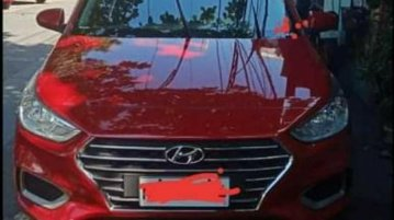 Sell Red Hyundai Accent 2020 in San Pedro