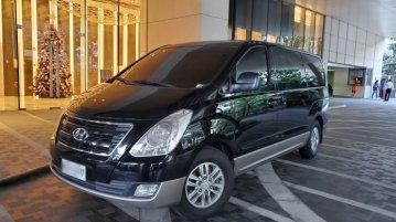 Black Hyundai Grand Starex 2016 for sale in Manila