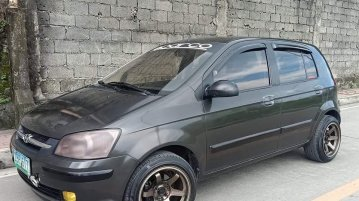 Selling Black Hyundai Getz 2005 in Valenzuela