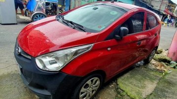 Sell Red 2015 Hyundai Eon in Manila