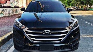 Black Hyundai Tucson 2019 for sale in Manila