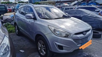 Silver Hyundai Tucson for sale in Manila