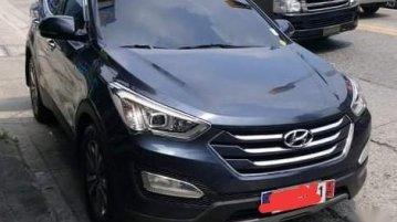 Sell Black 2015 Hyundai Santa Fe in Quezon City