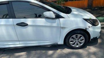 White Hyundai Accent 2015 for sale in Manila