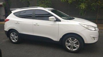 Selling White Hyundai Tucson 2013 SUV at 33051 km in Manila