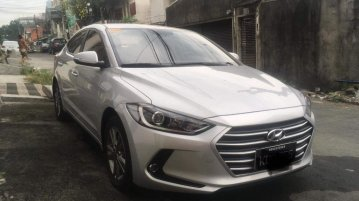 Sell Silver 2019 Hyundai Elantra in Quezon City