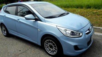 Blue Hyundai Accent 2014 for sale in Quezon City