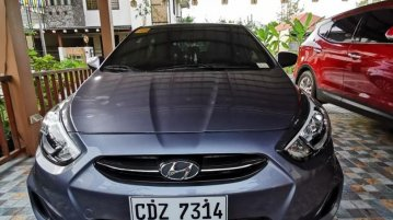 Selling Silver Hyundai Accent 2016 in Malolos City