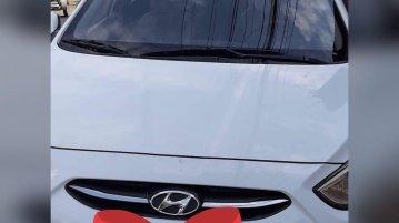 White Hyundai Accent 2017 for sale in Manila