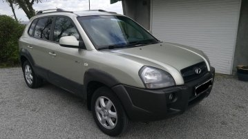 Silver Hyundai Tucson 2005 for sale in Manila