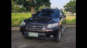 Black Hyundai Santa Fe 2009 for sale in San Fernando
