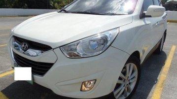 White Hyundai Tucson 2012 for sale in Manila