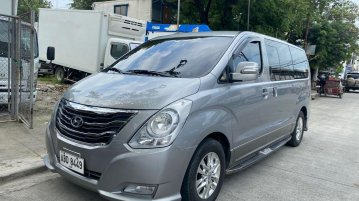Selling Silver Hyundai Starex 2014 in Manila