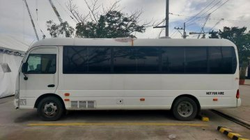 Hyundai County Mini Bus Mini Manual 2018