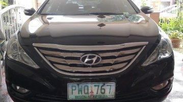 Black Hyundai Sonata 2010 for sale in Quezon