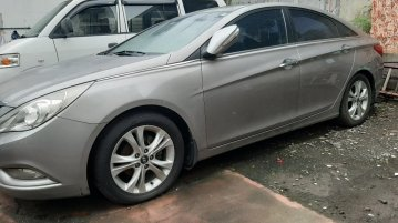 Silver Hyundai Sonata 2.4 2007 for sale in Quezon