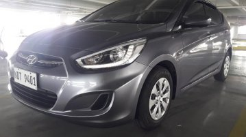 Silver Hyundai Accent 2016 for sale in Paranaque