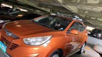 Orange Hyundai Tucson 2013 for sale in Cainta