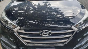 Selling Black Hyundai Tucson 2014 in Pasay
