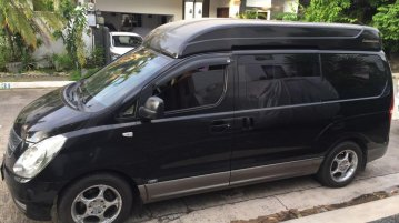 Selling Black Hyundai Starex 2009 in Manila