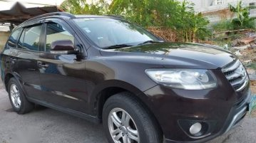 Black Hyundai Santa Fe 2012 for sale in Cavite