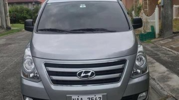 Silver Hyundai Grand Starex 2018 for sale in Las Pinas