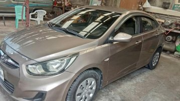 Selling Beige Hyundai Accent 2012 in Quezon