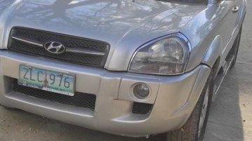 Silver Hyundai Tucson 2007 for sale in Cavite City