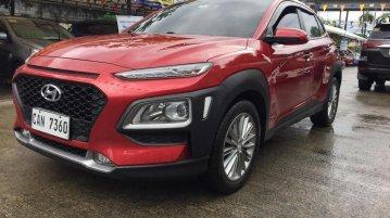 Selling Red Hyundai KONA 2017 in Pasig