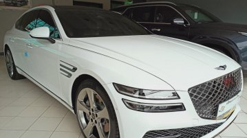 Selling White Hyundai Genesis 2021